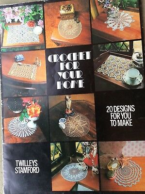 Vintage Crochet Pattern Book Crochet For Your Home 20 Designs For You To Make