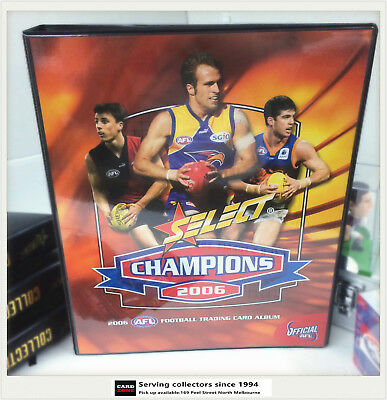 2006 Select AFL Champions Trading Card Official Card Album (No Pages)-Rare
