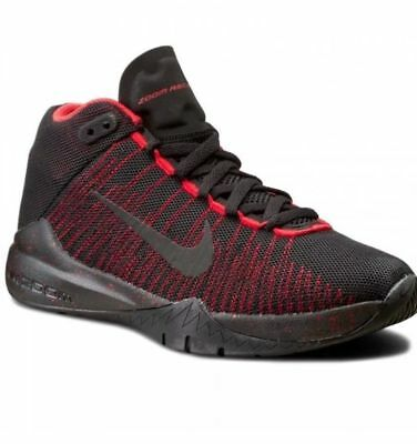 brand new ab9a2 a94fa New Boy Youth Nike Zoom Ascention (GS) 834319 003 Shoes Size 4Y,5Y