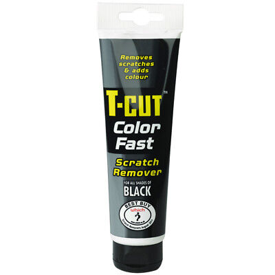 T Cut Colour Fast BLACK Car Scratch Remover Abrasive Compound Color Polish 150g