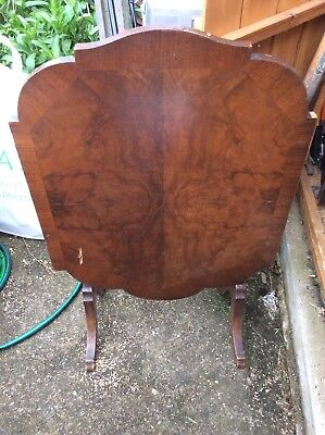 Art Deco/Antique Davrard Tilt Top Side Table/Fire screen/Card Table needs refurb