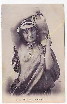 CPA ALGERIE Jeune Fille MABROUKA Edit N.D. PHOTO 407T