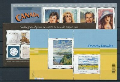 [G88893] Canada 2006 3 good sheets Very Fine MNH