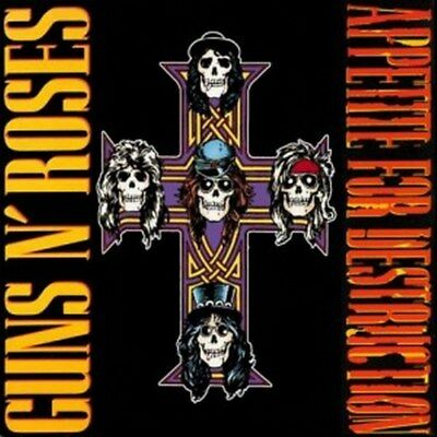 Guns N' Roses - Appetite For Destruction [LP] (180 Gram Vinyl) Sealed