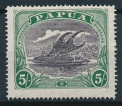 [38408] Papua 1916/32 Boat Good stamp Very Fine MH but little rust