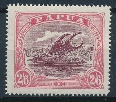 [38410] Papua 1916/31 Boat Good stamp Perforation 14 Very Fine MH