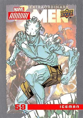 ICEMAN / 2016 MARVEL ANNUAL (Upper Deck 2017) BASE Trading Card #59