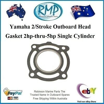 1 x New RMP Head Gasket Suits Yamaha Outboard 1cyl 2hp-thru-5hp # R 646-11181