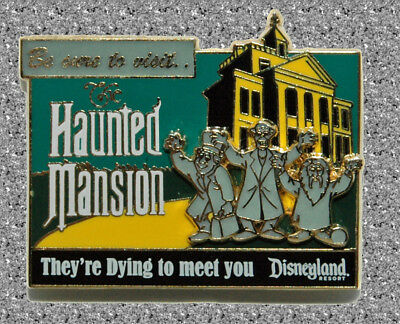 Haunted Mansion Billboard DISNEY Pin LE 1000 - Mickey's Pin Odyssey - DLR