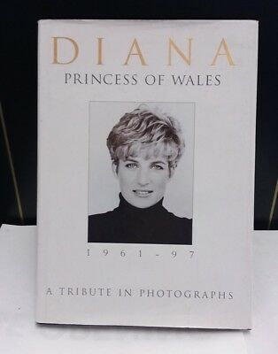 Princess Diana - Diana Princess of Wales - A Tribute in Photography - Book
