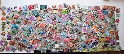 UNSORTED SELECTION OF MIDDLE EAST STAMPS. 20gms. (APR.250+)   LOT#764