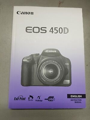 genuine canon eos 550d user manual english instruction book in good rh picclick co uk eos 550d instruction manual canon 550d user manual free download