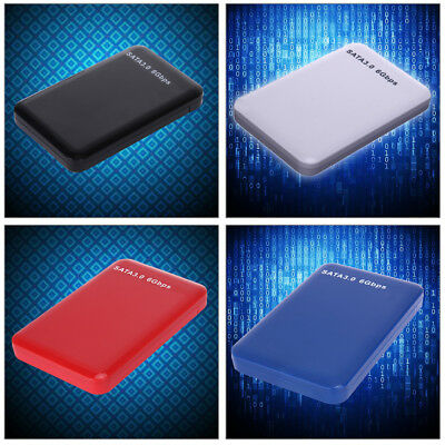 USB 3.0 2.5 inch SATA SSD HDD External Hard Drive Disc Enclosure Case Cover New