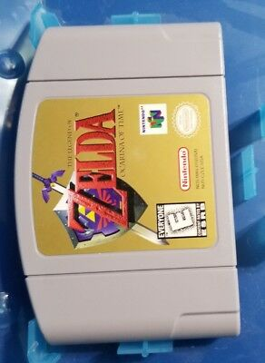 Nintendo 64 N64 The Legend of Zelda: Ocarina of Time Cartridge  Great Condition