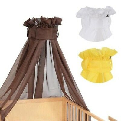 Baby-Plus Canopy Bettschleier Voile Choice of Colours New