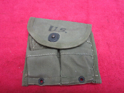 US Original WWII M1-Carbine Belt Pouch dated 1945
