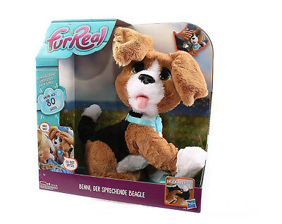 Hasbro Furreal Friends Hund Beagle mit sprachfunktion Benni Hündchen Interaktiv