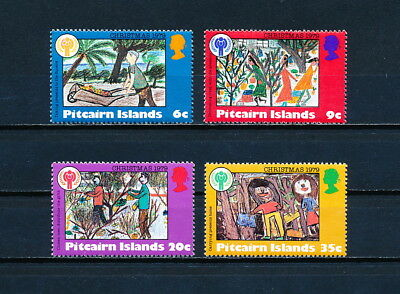 Pitcairn 188-91 MNH, Children's Drawings, 1979