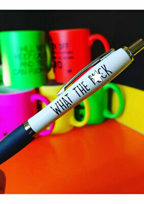 Funny Pens - Rude Cheeky Novelty Office Stationary Secret Santa Sweary PEN14