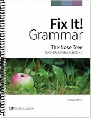 Fix it grammar student book 1 the nose tree grades 3 12 1929 fix it grammar the nose tree teachers manual book 1 fandeluxe Choice Image