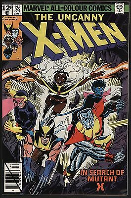 X-Men #126 Vf 8.0 Glossy Cover White Pages Mutant X! John Byrne Art