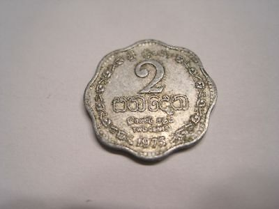 2 Cent Sri Lanka 1975