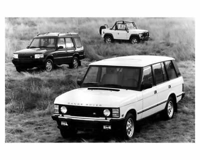 1994 1995 Land Rover Line Factory Photo uc5082