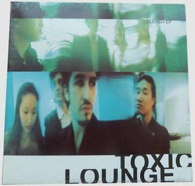 """Toxic Lounge - Clench + Helicopter - Maxi 12"""" Vinyl, EP, 4 tracks, 1998, NEW"""