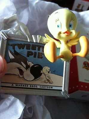 Tweetie Pie Tweety -looney Tunes Hallmark Ornament 2015 NIB Cute! Warner Bros.
