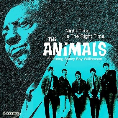 The Feat. Williamson,Sonny Boy Animals - Night Time Is The Right Time  Cd Neu