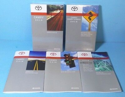 Amazing 18 2018 Toyota Camry Owners Manual With Navigation BRAND NEW