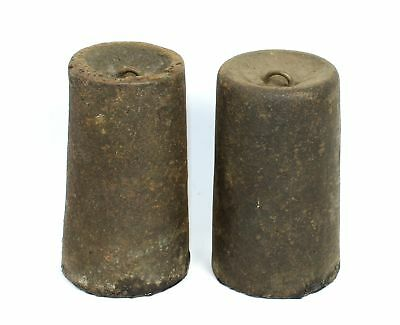 Antique American Weight Driven Clock Weights Sm210