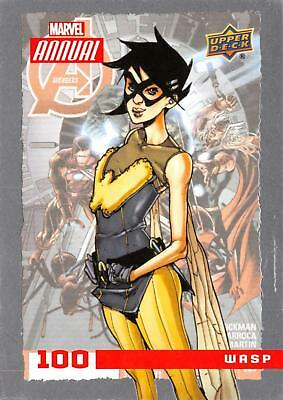 WASP / 2016 MARVEL ANNUAL (Upper Deck 2017) BASE Trading Card #100