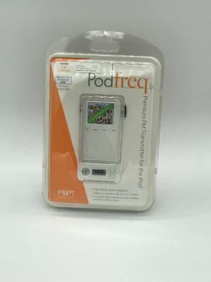 Sonnet PodFreq FM Transmitter for Apple iPod 4G Photo w/ Firewire Charging Cable