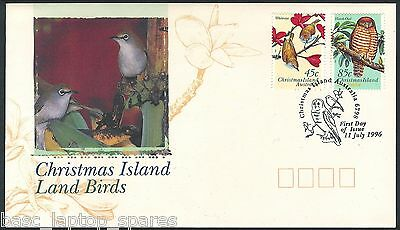 1996-07-11 Christmas Island Land Birds Lot 2