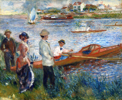 Oarsmen at Chatou by Auguste Renoir oil painting HD printed on canvas L1740