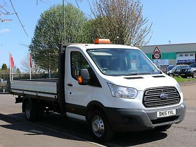 556942e86a 2015 Ford Transit 2.2 TDCi 125ps Heavy Duty Chassis Cab Diesel white Manual