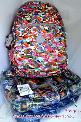 New w Tag Kipling Seoul XL Backpack w laptop protection