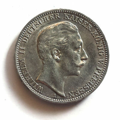 Germany Empire 3 Mark 1912 Silver coin  Wilhelm II