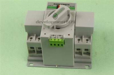 New Intelligent Mini 63A 3-Phase Dual Power Automatic Transfer Switch Q3R-63