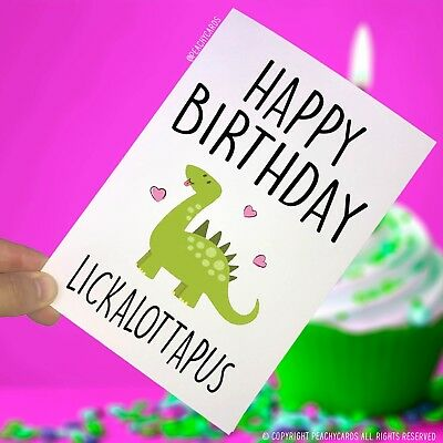 Happy Birthday Greeting Cards Lesbian Funny Gifts Gay Friend Celebration PC57