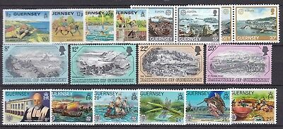Guernsey Commemorative Sets Below Face Value (41) Mint Never Hinged