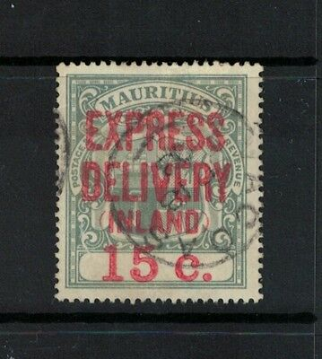 Mauritius Stamps 1900s victoria era fine used - Inland express delivery FU