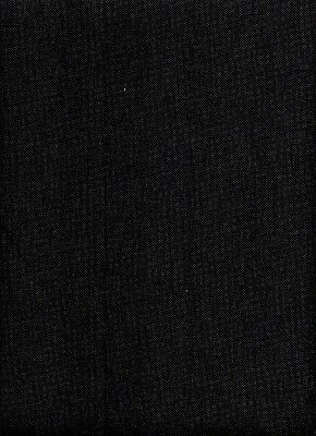 "27 count Zweigart Linda ""Black"" Evenweave Cross Stitch Fabric 35 x 69cm singles"