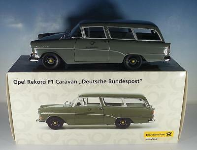 minichamps 1 18 opel rekord p1 caravan deutsche bundespost. Black Bedroom Furniture Sets. Home Design Ideas