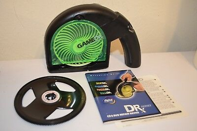 Game Dr Doctor Digital Innovations CD DVD Disc Repair Cleaning Clean NO Fluid VG