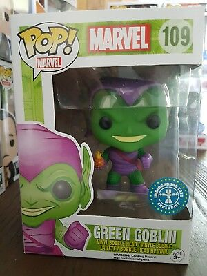 Funko Pop! 109 Green Goblin Exclusive Marvel Bobble-Head Neu Underground Toys