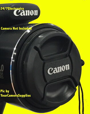CANON FRONT LENS CAP DIRECTLY to Canon EF 50mm f/1.8 STM Lens + HOLDER