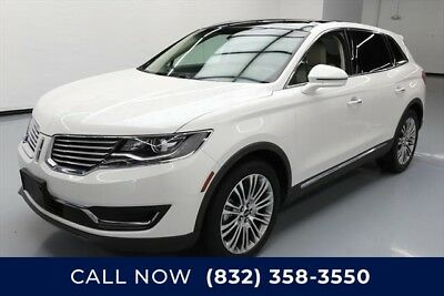 Lincoln MKX Reserve Texas Direct Auto 2017 Reserve Used 3.7L V6 24V Automatic FWD SUV