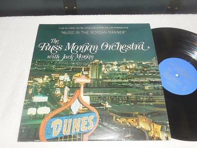 THE RUSS MORGAN ORCHESTRA with JACK MORGAN 60's ORIG JAZZ LP RARE AUTOGRAPHED
